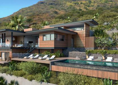 23 villas de prestige Legend Hill, 4 chambres, la Tourelle, Rivière Noire, Maurice