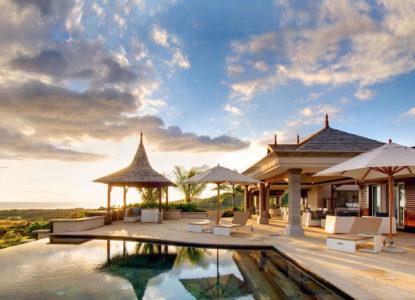 Villas luxueuses dans un lotissement résidentiel, Bel Ombre, Ile Maurice
