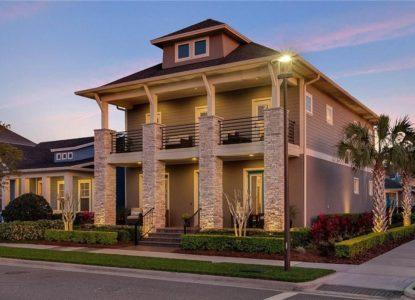 Belle maison à étage, 4 chambres, Orlando, Floride, USA