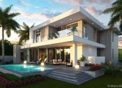 Très belle maison, 5 chambres, Miami Beach, USA