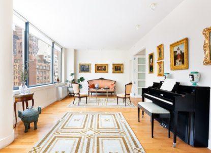 Condo luxueux, 2 chambres, New York, Manhattan, USA