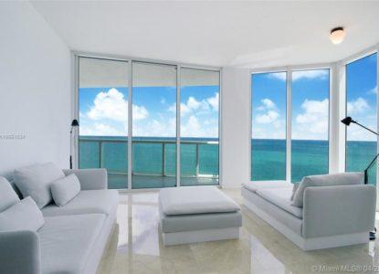 Appartement avec vue sur l'océan, Miami beach Floride, USA