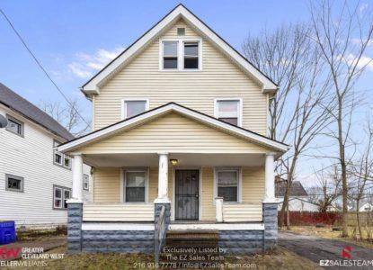 Maison pour investissement locatif, Cleveland, Ohio, USA