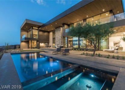 Maison contemporaine à Las Vegas, Nevada, USA