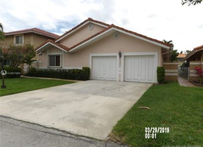 Maison familiale indépendante, 3 chambres, Miami, Floride, USA