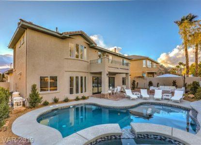 Élégant immobilier 4 chambres à Las Vegas, Nevada, USA