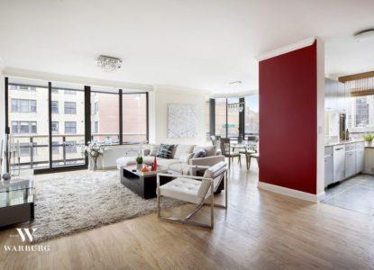 Immobilier à New York, bel appartement 3 chambres, Manhattan, USA