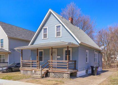 Maison prête à la location, Cleveland, Ohio, USA