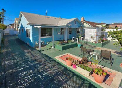 Une maison et un appartement, 4 chambres, Los Angeles, Californie, USA