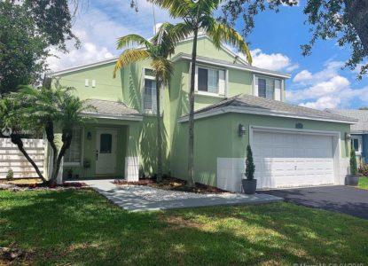 Magnifique villa, 3 chambres, Miami, Floride, USA