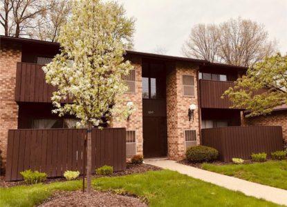 Joli condo à Cleveland pour investissement locatif, 2 chambres, Ohio, USA