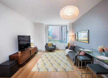 Immobilier exceptionnel à New York, condo 3 chambres, NY, USA