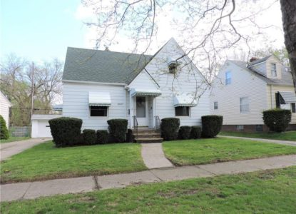 Charmante maison pour investissement locatif, Cleveland, Ohio, USA