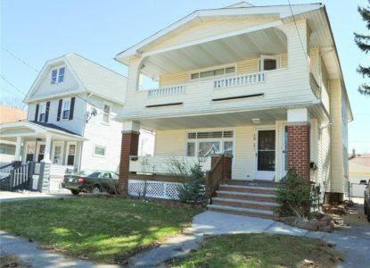 Duplex pour un investissement locatif, 4 chambres, Cleveland, Ohio, USA