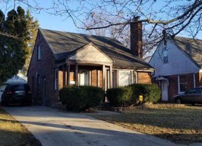 Immobilier à Detroit, 3 chambres, Michigan, USA