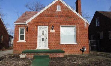 Immobilier à vendre à Detroit, 3 chambres, Michigan, USA