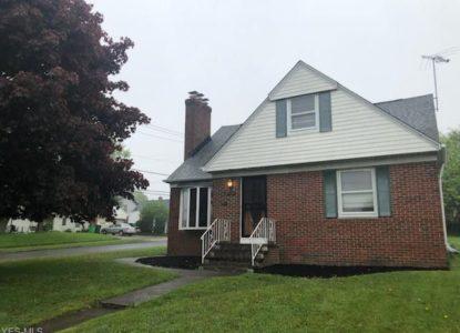 Investissement locatif à Cleveland, 3 chambres, Ohio, USA