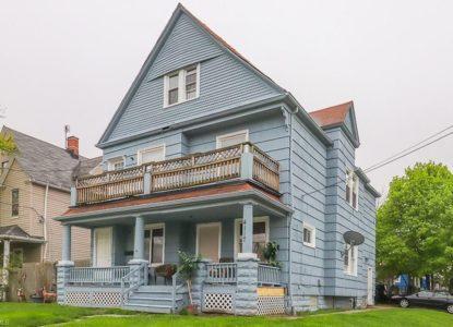 Charmant duplex pour location, 4 chambres, Cleveland, Ohio, USA