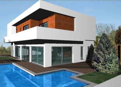 Maison d'architecture moderne à Faro, Portugal