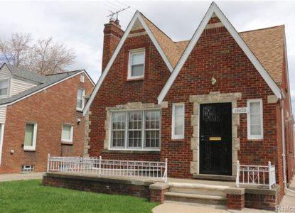 Maison en brique Cleveland pour location, 3 chambres, Ohio, USA