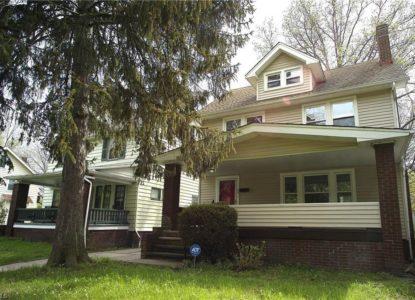 Maison coloniale à Cleveland pour location, 4 chambres, Ohio, USA