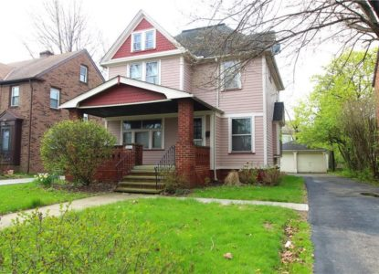 Maison coloniale à Cleveland investissement locatif, 3 chambres, Ohio, USA
