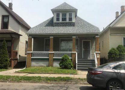 Maison à vendre à Detroit, 3 chambres, Michigan, USA