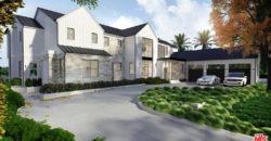 Villa style champêtre, 6 chambres, Los Angeles Californie USA