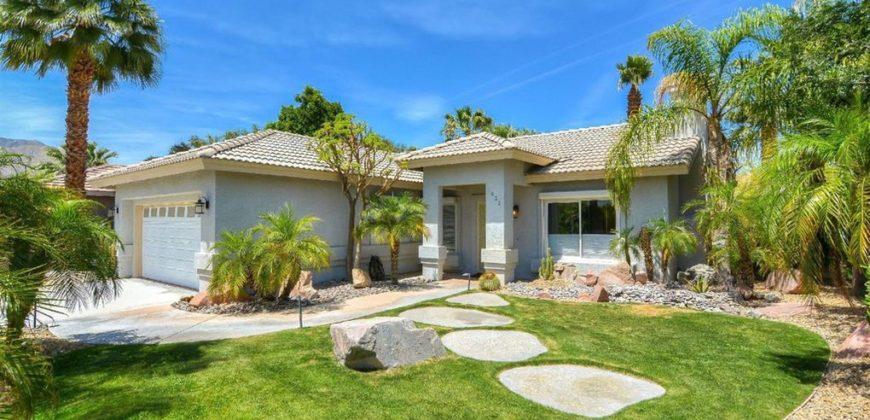 Villa plain pied avec piscine à Palm Springs, USA | Realty Luxe