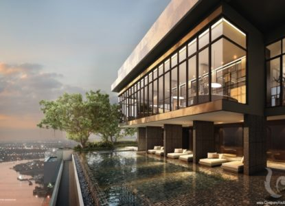 Vivre dans un sublime appartement à Bangkok, Thaïlande