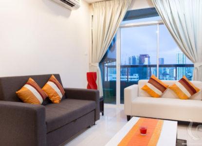 Vivre dans un bel immobilier à Bangkok, Thaïlande