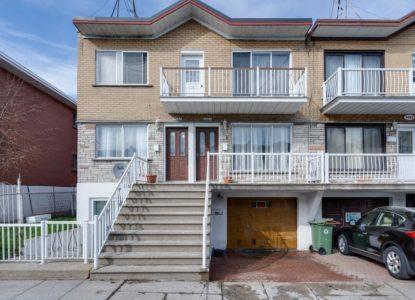 Duplex à vendre à Montréal, 3 chambres, Canada, Québec