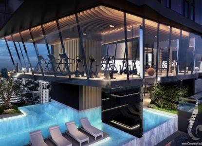 Vivre dans un splendide immobilier à Bangkok, Thaïlande