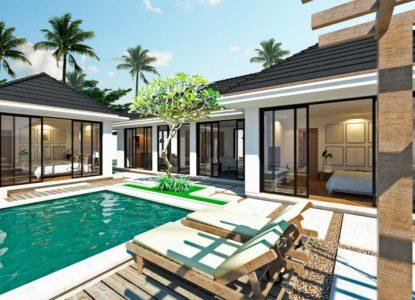 Immobilier à vendre à Bali, 3 chambres, Indonésie, Ubud