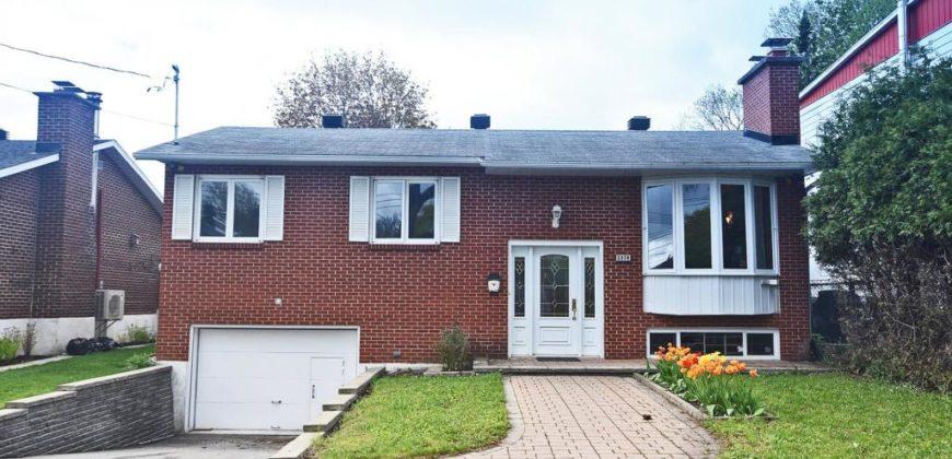 Maison à vendre à Montréal, 3 chambres| Realty Luxe