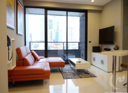 Magnifique appartement à Silom, Bangkok, Thaïlande