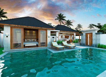 Villa à Bali, 1 chambre, Indonésie, Ubud