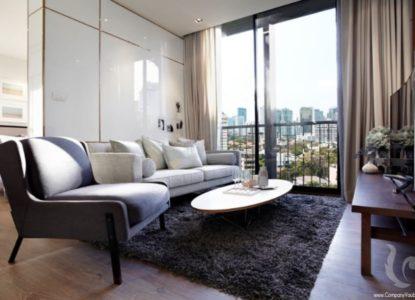 Vivre dans un condo de luxe à Bangkok, Thaïlande