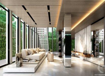 Vivre dans un condo splendide à Bangkok, Thaïlande