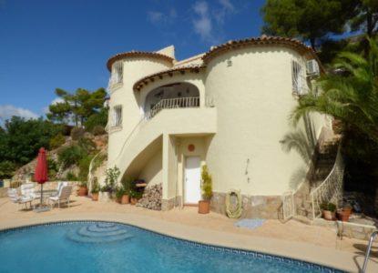 Villa sublime à vendre à Alcalali, Costa Blanca, Espagne