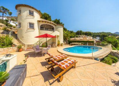 Villa splendide en vente à Alcalali, Costa Blanca, Espagne