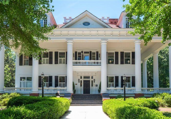La demeure de Scarlett O'Hara près d'Atlanta