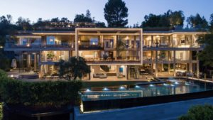 La deuxième villa la plus chère de Los Angeles