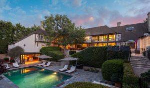 villa de Brad Pitt et Jennifer Aniston