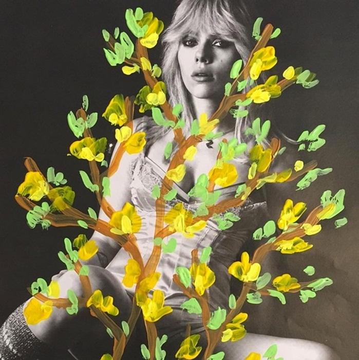 Banksy des fleurs