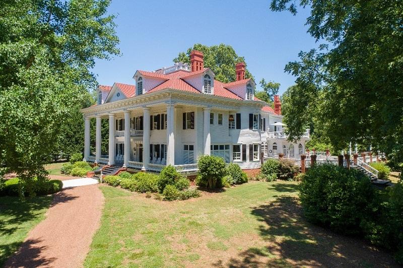 Vente aux enchères d'une maison de 1839 à Covinton dans l'Etat de Georgie