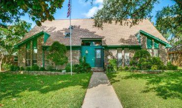 Villa basse arborée à Dallas, USA