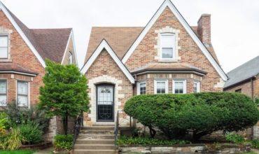 Magnifique villa en briques à vendre à Chicago USA