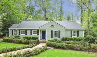 Jolie maison de 1950 à vendre Atlanta, USA