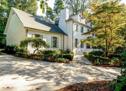 villa avec verdure à vendre à Atlanta, Georgie, USA